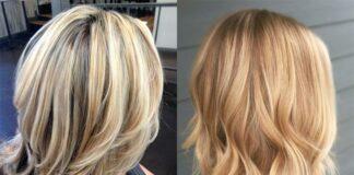 мелирование волос, брондирование волос