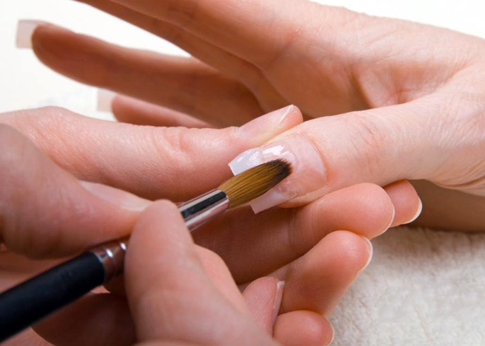 гель, ногти, гелевое наращивание ногтей
