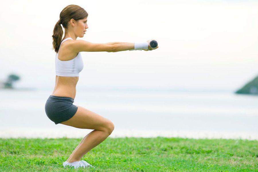 упражнения, ноги, ягодицы, похудение