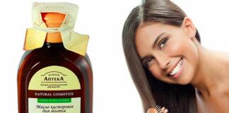 касторовое масло, волосы