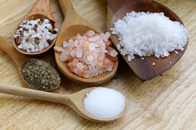 пилинг, соль, целлюлит