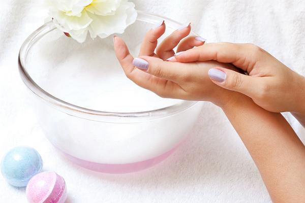 ванночка для ногтей, ногти, восстановление ногтей