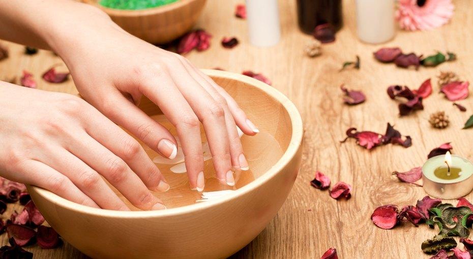 ванночка для ногтей, ногти