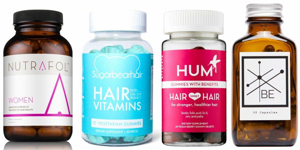 выпадение волос, витамины