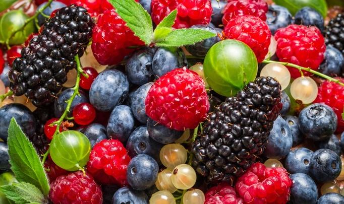 ягоды, отрицательная калорийность