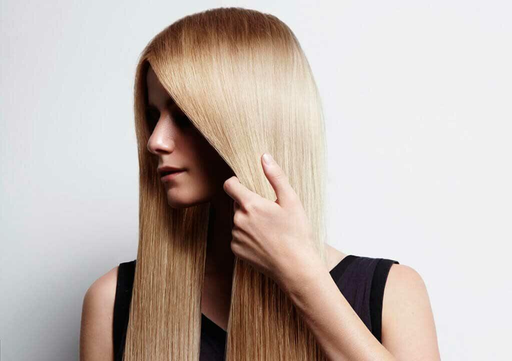 выпрямление волос, кератин