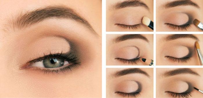 тени, глаза, макияж
