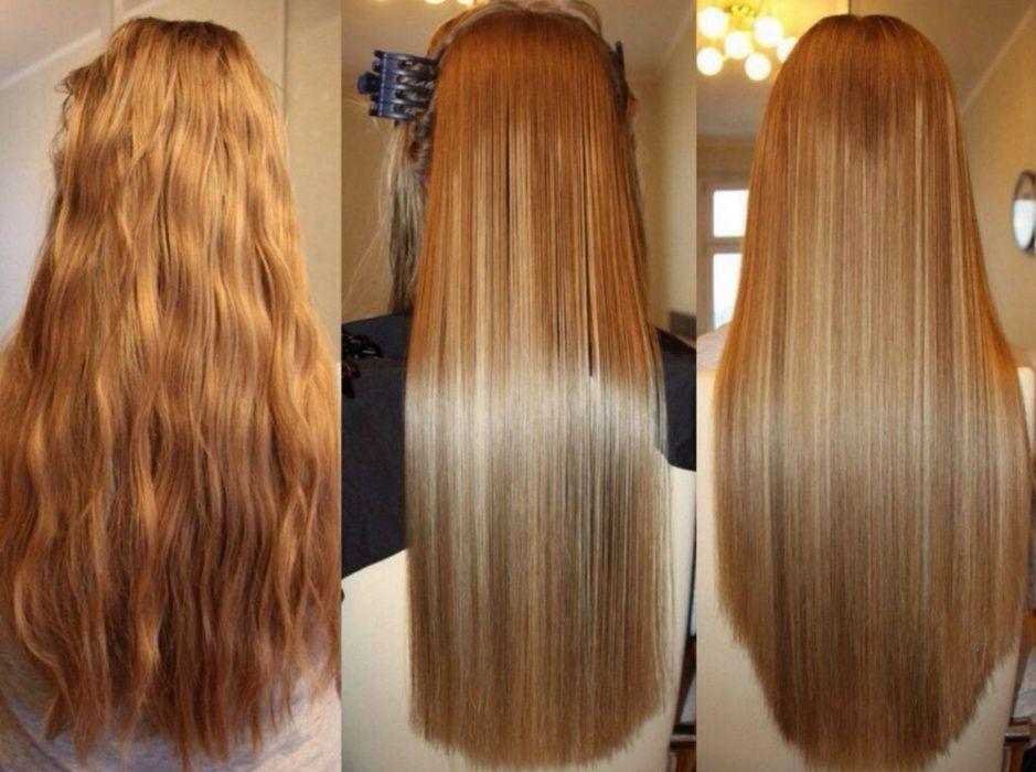 кератин, выпрямление, волосы