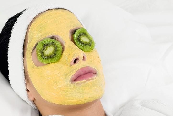 маска, лицо, кожа
