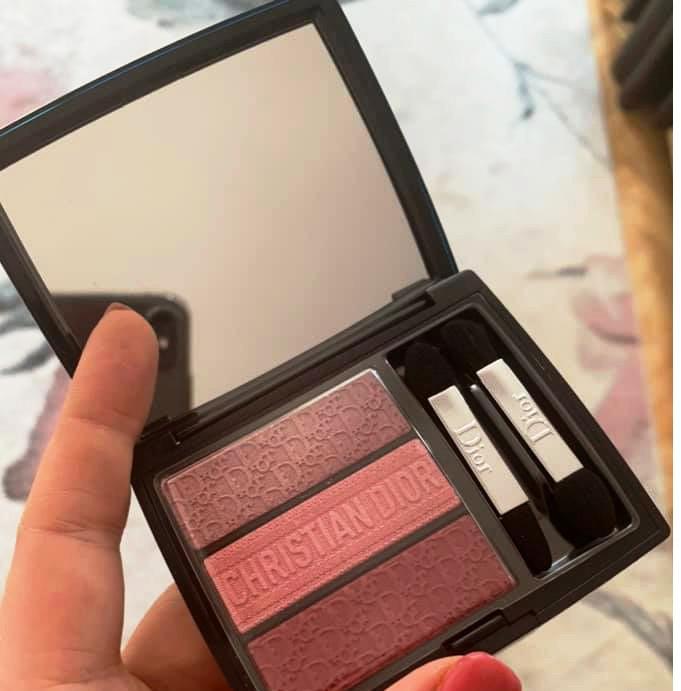 Dior Show Tri Blique Eyeshadow Palette Spring Summer 2019