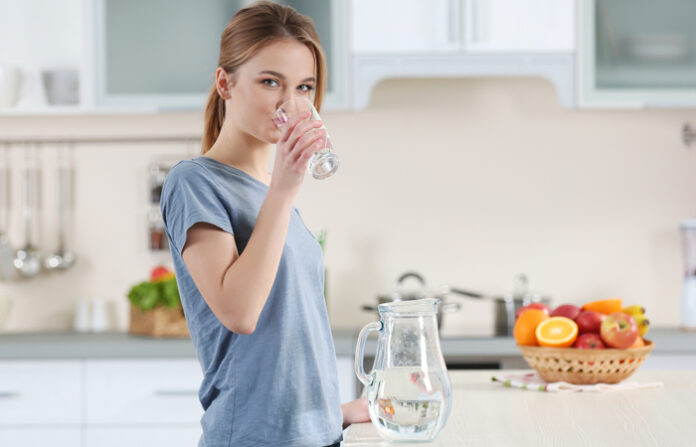 вода, похудеть