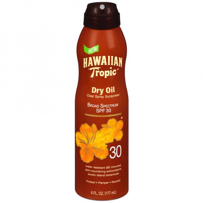 Масло-спрей для загара Hawaiian Tropic