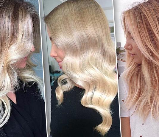 3 модных оттенка волос для блондинок летом 2019