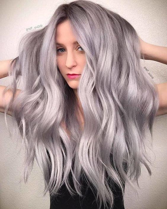 модный оттенок волос 2019