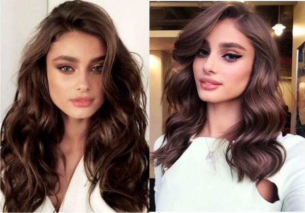 Модный цвет волос лета 2019 - шоколадный