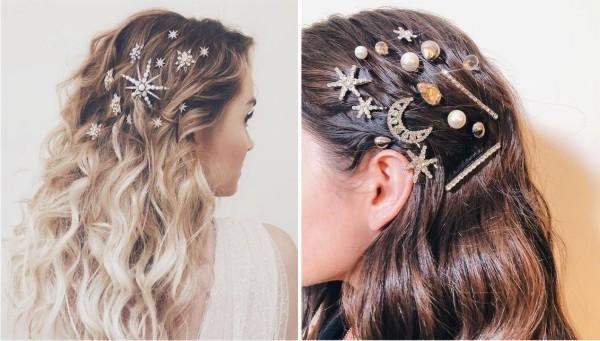 Модный тренд 2019 для волос: заколки