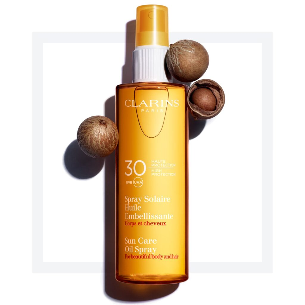 Clarins, Sun Care Body Oil-in-Mist UVA/UVB 30