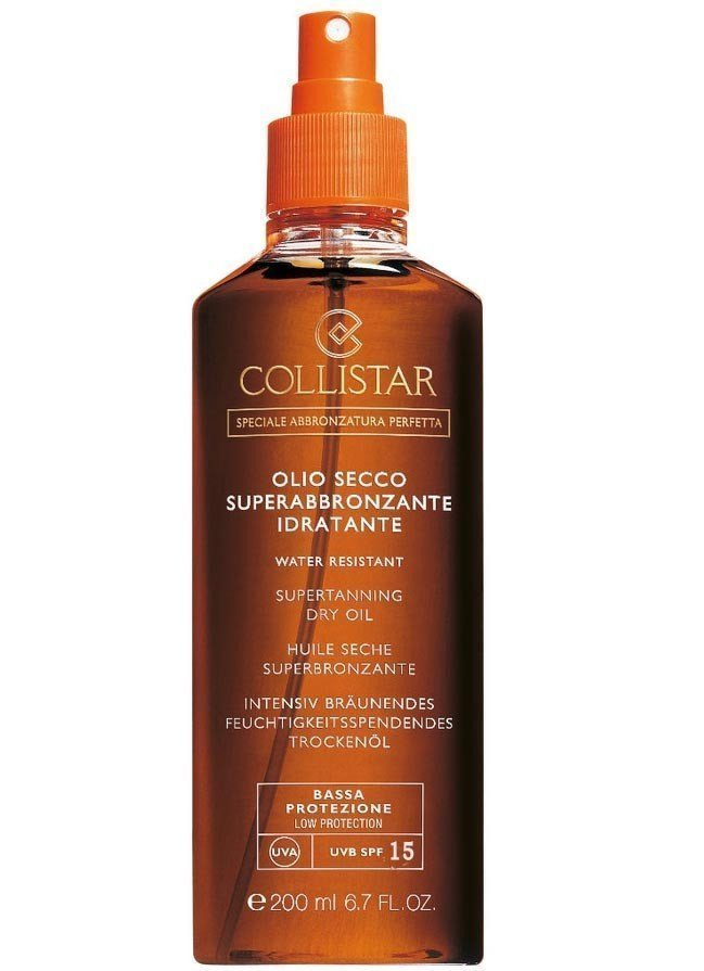Collistar, Supertanning Moisturizing Dry Oil SPF 15