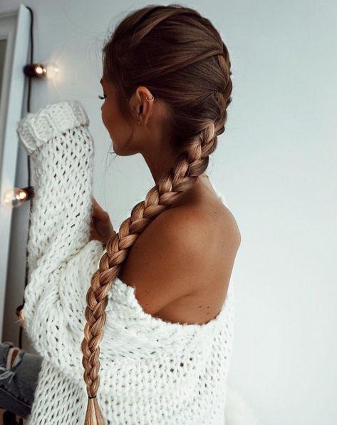 коса, прическа, волосы