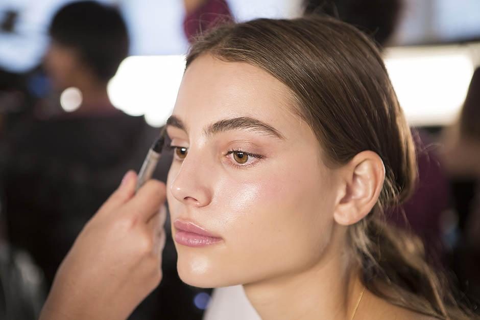 модный макияж, макияж лета, брови