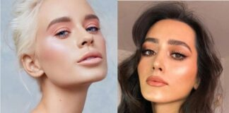 Монохромный макияж 2019