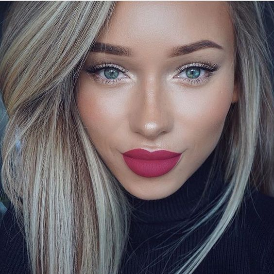 губы, макияж губ