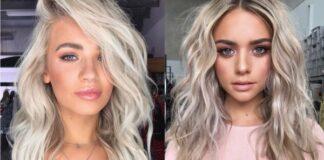 оттенок волос блонд