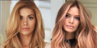 клубничный блонд , цвет волос для лета 2019