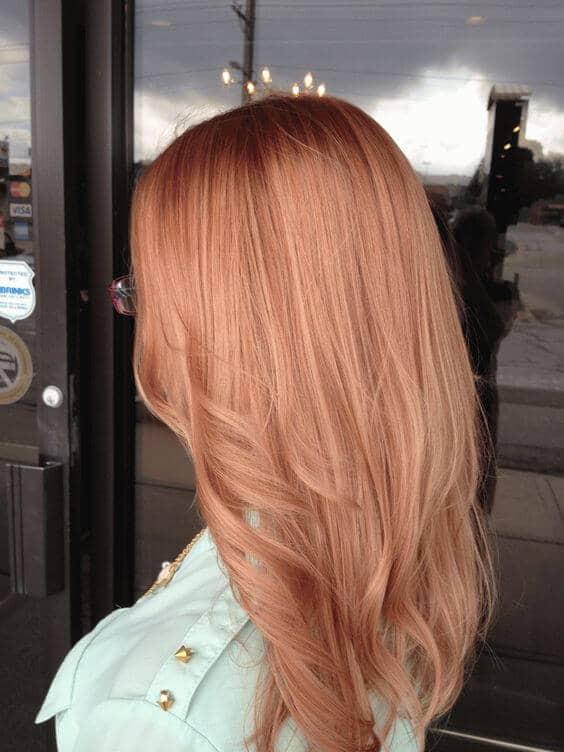 Клубничный блонд