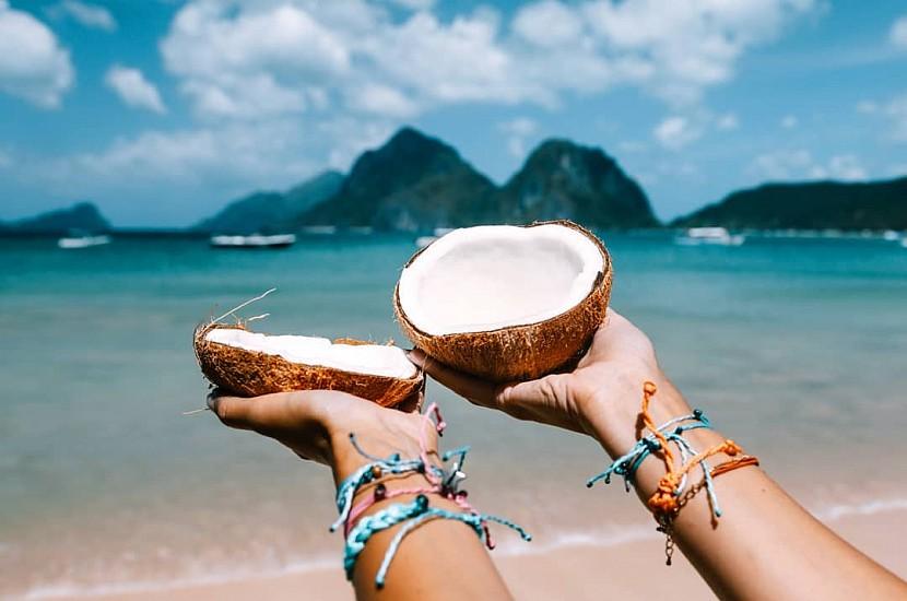 кокосовое масло для загар