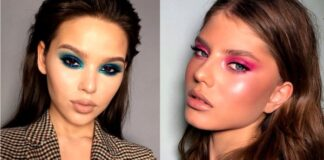 вечерний макияж 2019