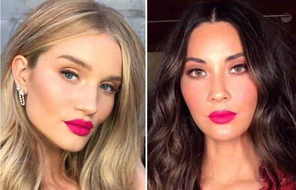модный макияж губ 2019