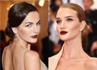макияж губ осень-зима 2019-2020