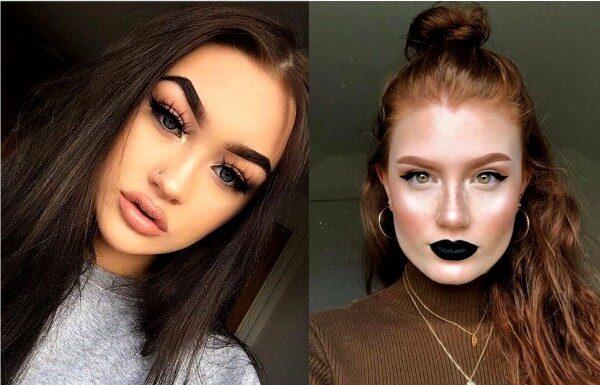 антитренды в макияже