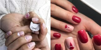 маникюр, короткие ногти