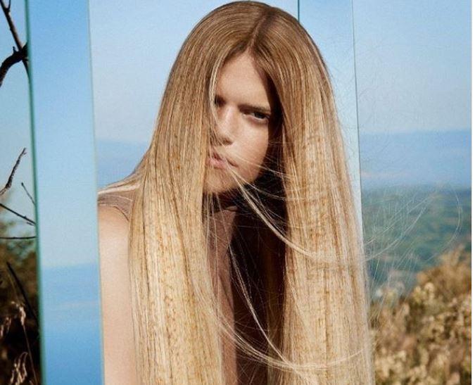окрашивание волос, веснушки