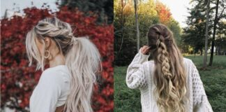 модные прически осени 2019 с косой