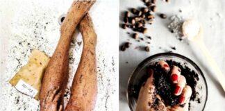 кофейный скраб, скраб из кофе, тело ,кожа, уход